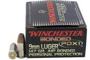 Winchester Supreme Elite 9MM 147 Grain Bonded PDX