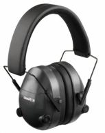 Champion Black Adjustable Electronic Earmuffs - 40974