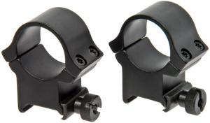 Redfield X-High Aluminum 4 Hole Rings w/Matte Black Finish - 47334