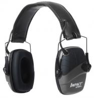 Howard Leight R02524 Impact Sport w/Deluxe Headband Electronic 22 dB Black - R02524