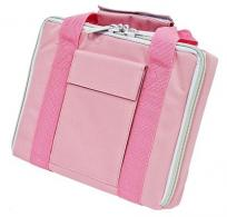 "Bulldog 11"" x 9"" Pink Nylon Single Pistol Case"