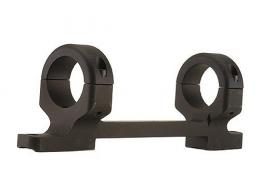 "DNZ Products 1"" Medium Long Action Matte Black Base/Rings Fo - 18500"