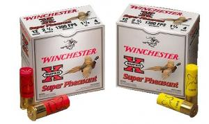 "Winchester Super Pheasant 12 Ga. 3"" 1 5/8 oz. #4 Lead Shot - CASE"