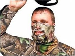 Primos Realtree APG HD 1/2 Stretch Fit Face Mask - 6739