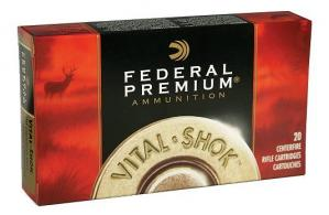 Federal 338 Winchester Magnum 250 Grain Nosler Partition
