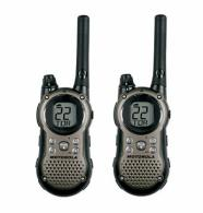 Motorola Gray 2 Way Radio w/28 Mile Range - T9680RSAME