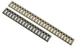 Falcon Industries Inc 3 Pack OD Green Low Profile Rail Cover - 4378OD