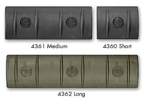 Falcon Industries Inc Long (15 Slot) OD Green Rail Cover - 4362OD