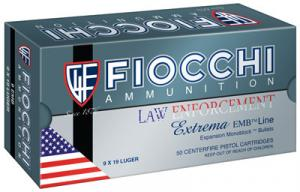 Fiocchi 9X18 Centerfire 9mmX18mm Ultra Police Metal Case 100 GR 5