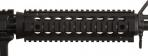 "Troy 9"" Black Drop In Rail For All Mid Length Carbines - MRFD9BT00"