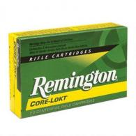 Remington Ammunition Core-Lokt 30 Remington AR Core-Lokt Sof - R30RAR2