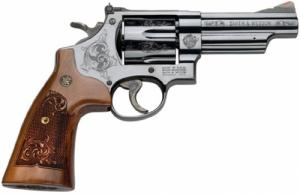 S&W M29 Machine Engraved 6RD 44MAg/44Sp 4""