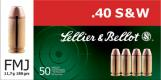 SELLIER & BELLOT 40 Smith & Wesson Full Metal Jacket - V311202U