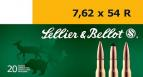 Magtech SELLIER & BELLOT 7.62mmX54mm Russian Boat Tail Hollo