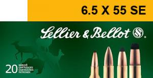 Magtech SELLIER & BELLOT 6.5mmX55mm Soft Point 140 GR 2671 f