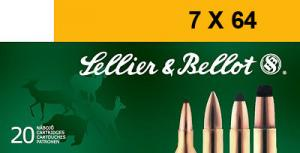 SELLIER & BELLOT 7mmX64 Brenneke Soft Point 139 GR 2 - V331102U