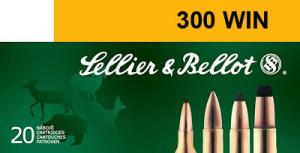 SELLIER & BELLOT 300 Winchester Magnum PTS (Plastic  - V332552U