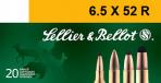 SELLIER & BELLOT 6.5mmX52R Soft Point 117 GR 2208 fp