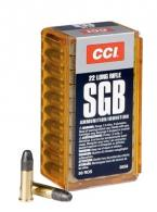 CCI 22 Long Rifle 40 Grain Flat Point