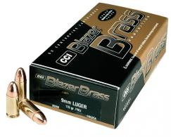 CCI Blazer 5200 9MM 115 Grain FMJ 50/bx