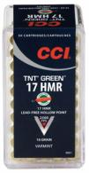 CCI .17 HMR .17 HMR  Lead Free Hollow P