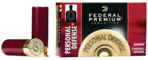 "Federal PD2564B Premium Personal Defense 20 GA 2.75"" 24 Pellets 5Rd/Bx"