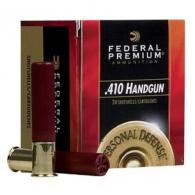 "Federal Premium PD413JGE 4B Personal Defense 410 Handgun 3"" 20/bx"