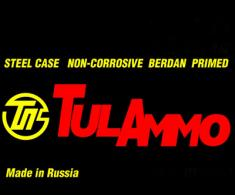 TULAMMO 9mm Full Metal Jacket 115 GR 900 Rnds