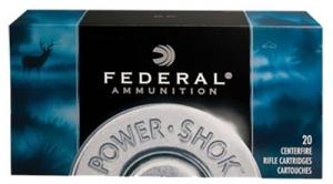 Federal 300 Winchester Short Magnum 180 Grain Hi-Shok Soft P