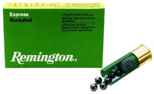 "Remington 12 Ga. 2 3/4"" 27 Pel. #4 Lead Buck Round"