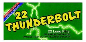 Remington TB22A Thunderbolt .22 LR  40 GR RN 50/box