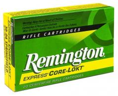 Remington 30-06 Springfield 165 Grain Core-Lokt Pointed Soft