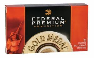 Federal GM3006M Gold Medal MatchKing BTHP 20RD 168gr 30-06 Springfield
