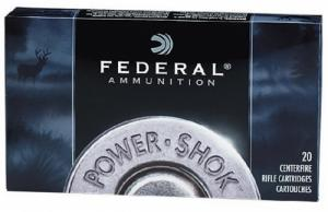 Federal 6AS Power-Shok Soft Point 20RD 80gr 6mm Remington - 6AS