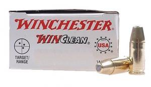 Winchester 9mm 115gr Win Clean Brass Enclosed Base
