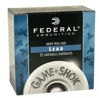 "Federal Heavy Field 12 Ga. 2 3/4"" 1 1/4 oz, #7 1/2 Lead Shot - CASE"