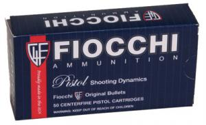 Fiocchi PISTOL SHOOTING DYNAMICS 9mm Jacketed Hollow Point 1