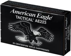 Federal American Eagle .223 Remington  55 GR AE223J - AE223J