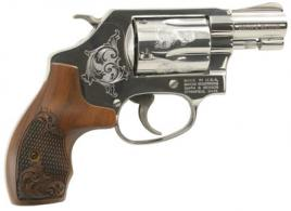 "S&W 36 Classic Exclusive Engraving 38 Spec 1.88"" 5rd  - 150948"