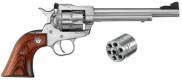 "Ruger 0626 Single-Six Convertible 6RD 22LR/22MAG 6.5"" - 0626"