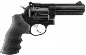 Ruger GP-100 357 Mag 4in, Blued, Hogue Monogrip - 1718