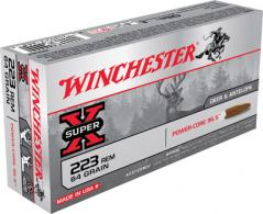 Win Ammo X223LF Super X 223 Rem/5.56 Nato Power Core 95/5 64