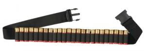 Shotgun Shell Adjustable Belt Black 25 Shotshells - 00680