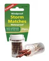 Windproof/Waterproof Storm Matches 25 Per Tub - 1170