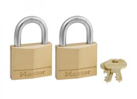 Solid Body Padlocks 2 Pack - 140T