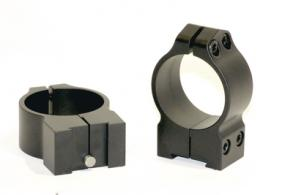 Maxima 30mm Fixed Grooved Receiver Rings Medium Matte Tikka - 14TM