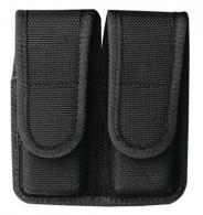 Model 7302 Double Magazine Pouch Velcro Closure Size 0 Black - 18440