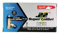 Aguila .22 Super Colibri 20 Grain Solid Point
