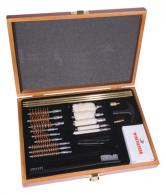 Winchester Universal Cleaning Kit 30 Piece In Wooden Case - 363226