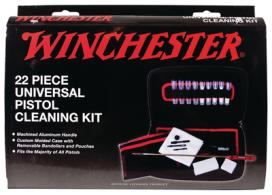 Winchester Universal Pistol Cleaning Kit 22 Piece In Custom Fit - 363240